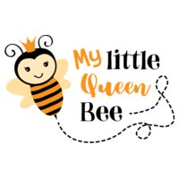 My Litlle Queen Bee SVG